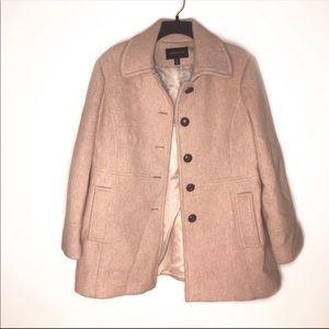 London Fog vintage pea coat XL